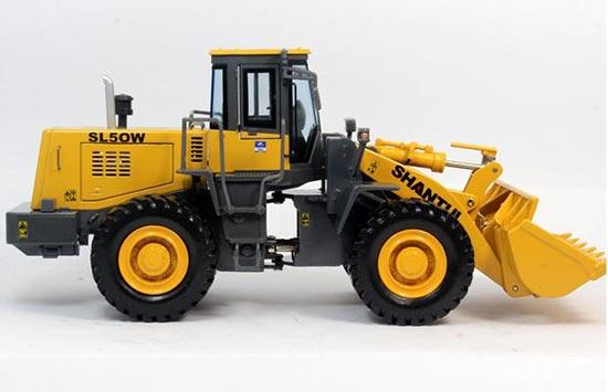 Diecast Shantui SL50W Loader Truck Model 1:35 Scale Yellow [VB1A961]