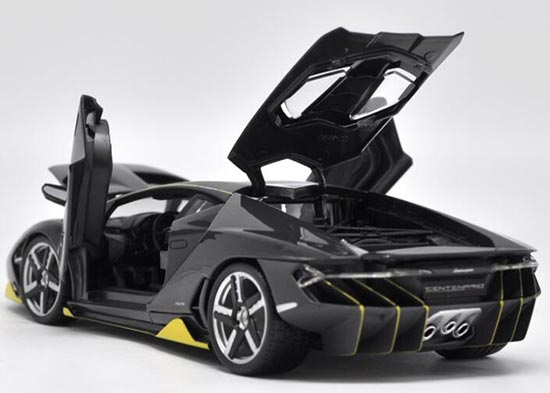 Diecast Lamborghini Centenario Model 1 18 Scale Black By Maisto