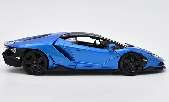 Diecast Lamborghini Centenario Model Red Blue 1 18 By Maisto Vb2a543