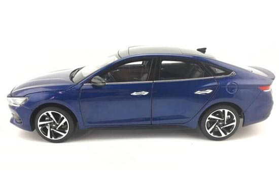 Diecast Hyundai La Festa Model 1 18 Scale Blue Vb2a804